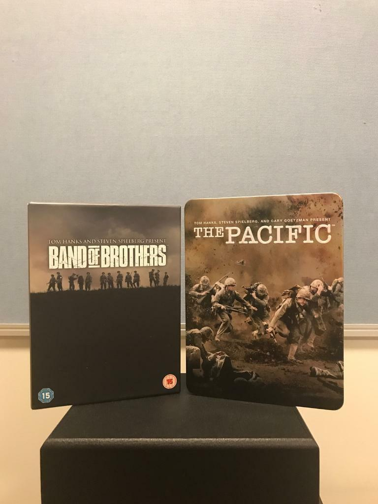 Band of Brothers + The Pacific Boxsets