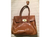 Mulberry Handbag Tan Brown Leather - Second Hand