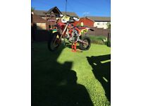 Honda crf450 crf 450 r not x road legal supermoto swap px? Kxf Yzf rmz 250