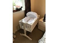 Baby cradle and Moses basket