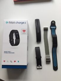 Fitbit Charge 2 with spare straps £80 ONO