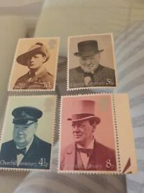 churchill centenary stamps