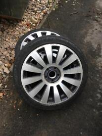 5x112 Audi wheels and tyres 18""