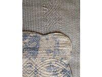 Regency Toile de Jouy 100% cotton double-size bedspread
