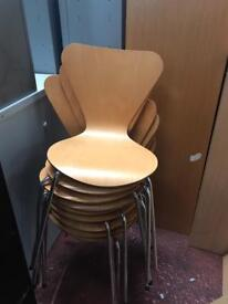 Beech Stackable Chairs