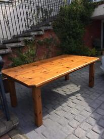 Large Canadian Maple Table