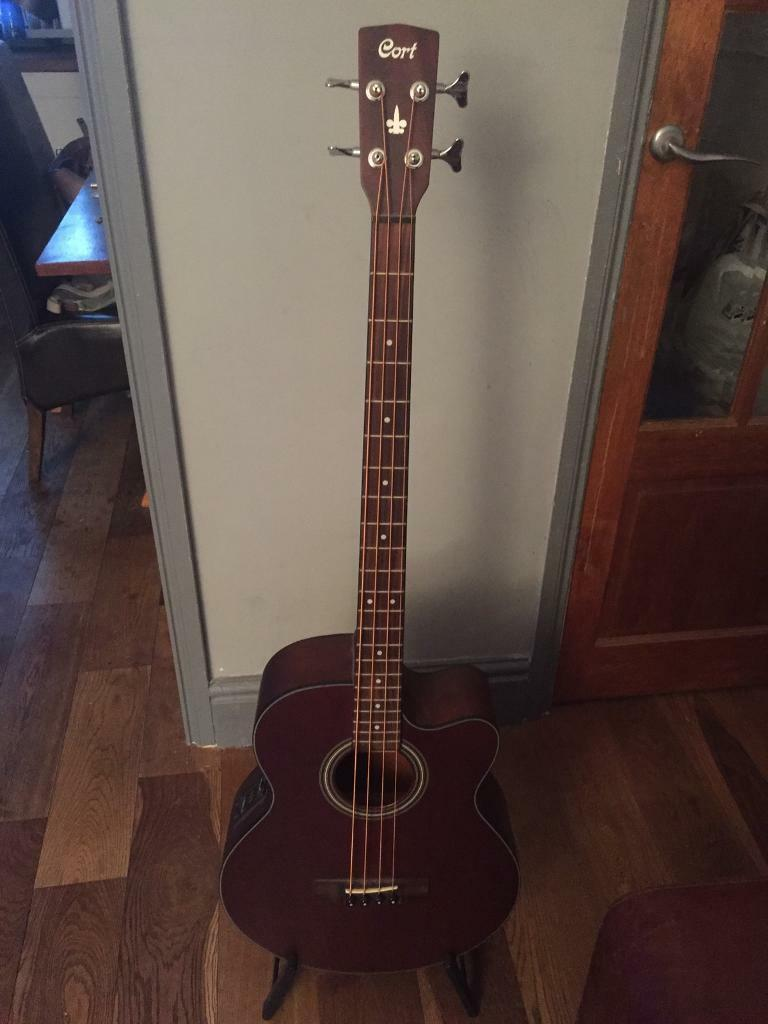 Electro-acoustic Bass Guitar