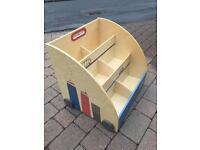 Verbudet Floor Standing Roller Bookcase Book Case Cars City Scene boys shelf
