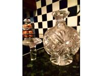 Decanters/glass jars