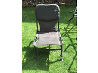 Terry Hearn specialist fishing chair adjustable feet