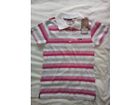 New with tags: Lee Cooper Polo Shirt 11-12 yrs