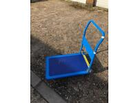Silverline flatbed trolley. Hardly used.