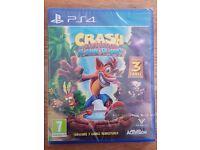 Crash Bandicoot N. Sane Trilogy - Sony Playstation 4 Game - NEW & SEALED - 3 Amazing Platformers PS4