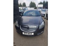VAUXHALL INSIGNIA 2011 (UNRECORDED SALVAGE)