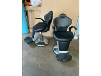 Hairdressers/beautician chairs
