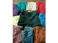 Jeans x9 and high waisted shorts size 8