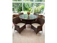 Conservatory furniture - 5 piece set