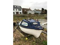 12ft Fishing Boat, Trailer and Engine