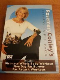 Rosemary Conley's Fitness Triple Pack DVD
