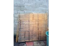 Wickes Wooden Fence Panel
