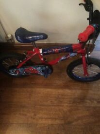 Kids Spider-Man bike