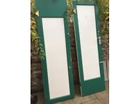Pair of large wooden doors - Free to Collector