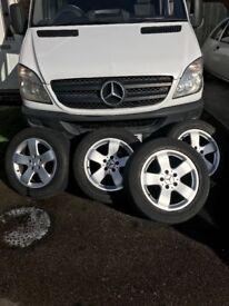 Alloy wheels w211
