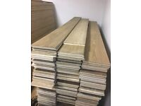 Laminate Oak Wood Flooring various sizes and thickness