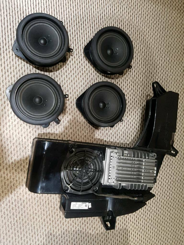 Audi A4 B6 B7 Stereo Radio Speaker Amplifier