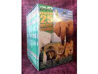 Over 25 Wildlife Features DVD box set
