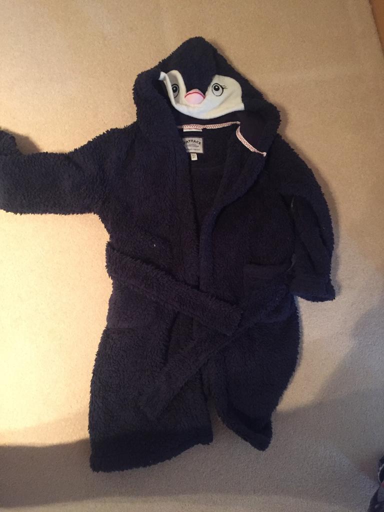 Fat Face Penguin Fleece Dressing gown size 4-5 years   in Portlethen ...