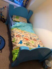 Single bed T. Bailie