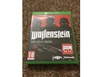 Xbox one game - Wolfenstein
