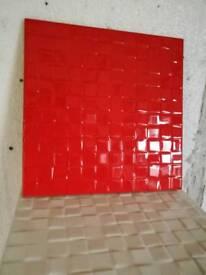 Prisma rojo wall tiles