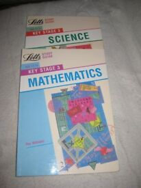 Maths and Science Key Stage 3 Study Guides - £3.00 each or 2 for £5.00