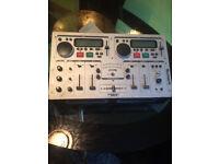 numark cd/mp3 mixer