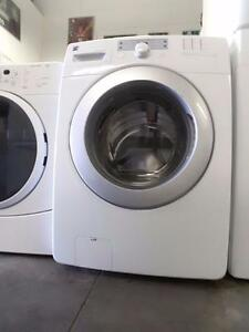 """- SALE -  LG TROMM  Front Load WASHER   $350 - Used Appliance - """"SALE"""" at 9267 50 Street"""