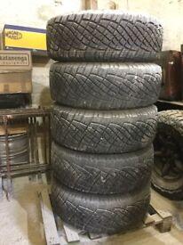 Td5 disco wheels general grabber tyres