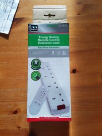 remote control 4 way extension masterplug NEW