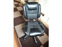Swivel Height-adj Computer Chair (Excellent Condition)