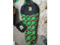 Child's Dino sleeping bag