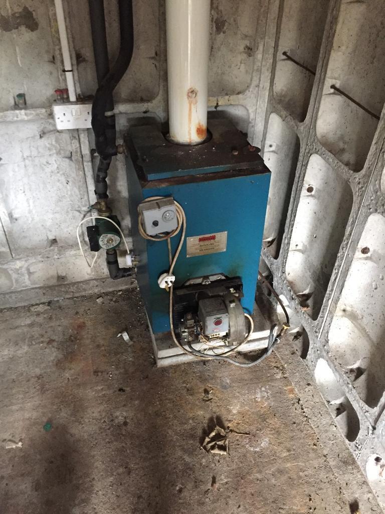 Warm flow Boiler & burner