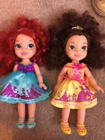Two princess dolls