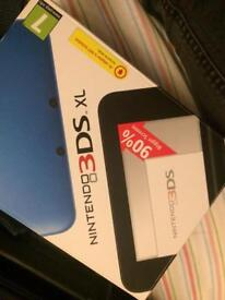 Nintendo 3DS Xl with games (OPEN TO OFFERS)