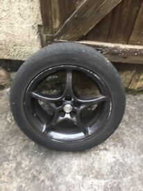TOYOTA CELICA ALLOY WITH TYRE