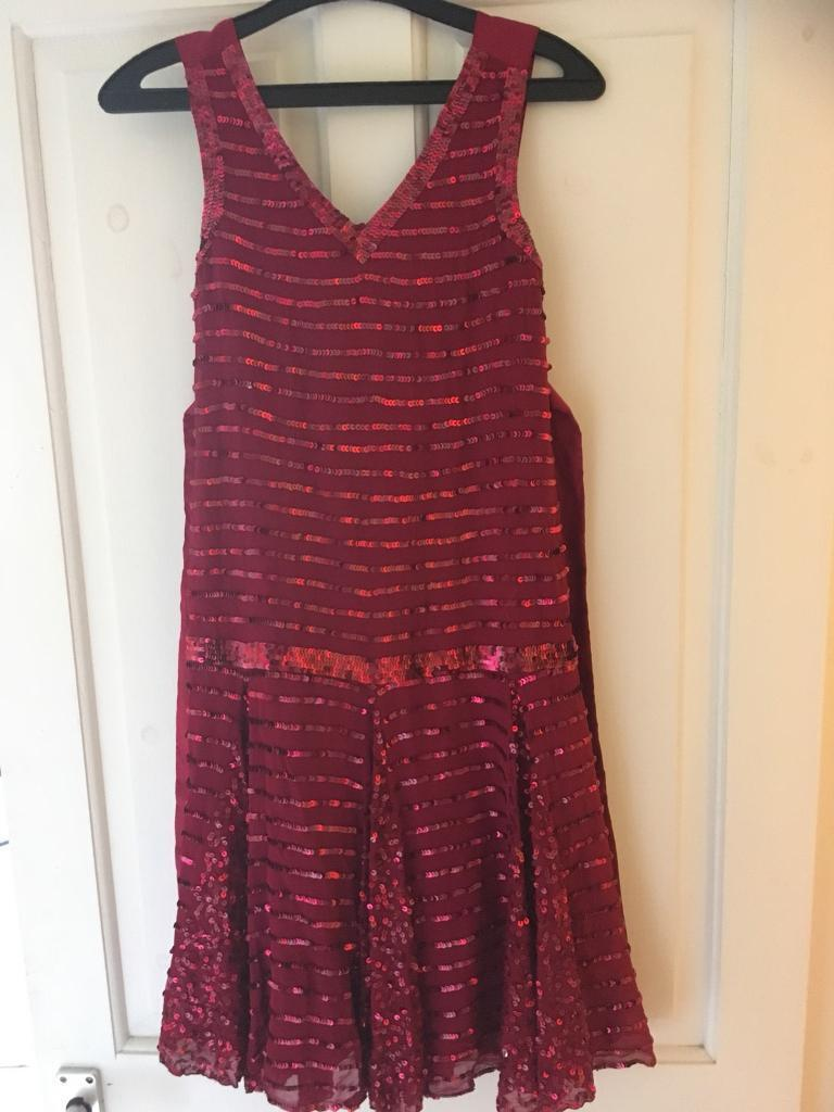Girls party dress age 10-11