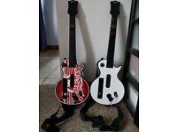 Guitar Hero Nintendo Wii Game Guitars