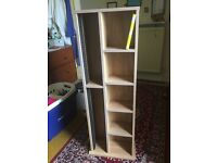 CD storage rack and bookcase