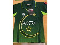 Kids Pakistan cricket shirt