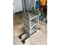 4 x 3 Combination Ladder with self locking hinges